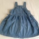 Old Navy, Infant Girts, Dress/Jumper, Size 18-24 months, Blue Denim