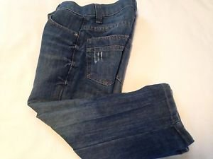 PDC,  Jeans Size 4, Blue, Distressed pocket design, Excellent Condition