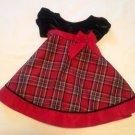 Goodlad Of Philadelphia Red Holiday Dress - Size 12 Months
