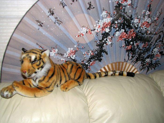 "NEW WITHOUIT TAGS Plush 31"" Tiger-Stuffed Animal"