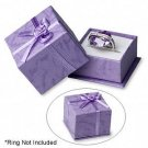 Nice Purple Ring Box