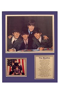 CARDBOARD Wall Decor Beatles Bio Art Early Years