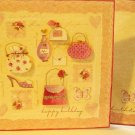 """Handcrafted Greeting Card: """"It's your birthday ... treat yourself to something special"""""""