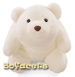 "Collectible GUND SNUFFLES BEAR  - 13.5"" Snuffles Bear White - Extra Large"