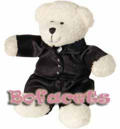 MINI WEDDING TEDDY BEAR PLUSH