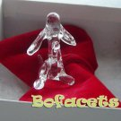 Mini Handcrafted Crystal Glass Decoration - Puppy Crystal Glass Figurine