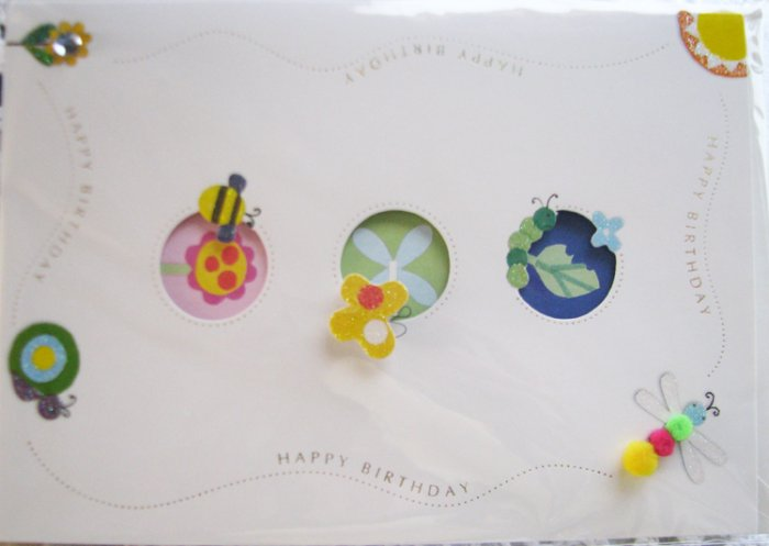 """""""Best wishes to someone special on your birthday!"""" Handcrafted Greeting Card"""