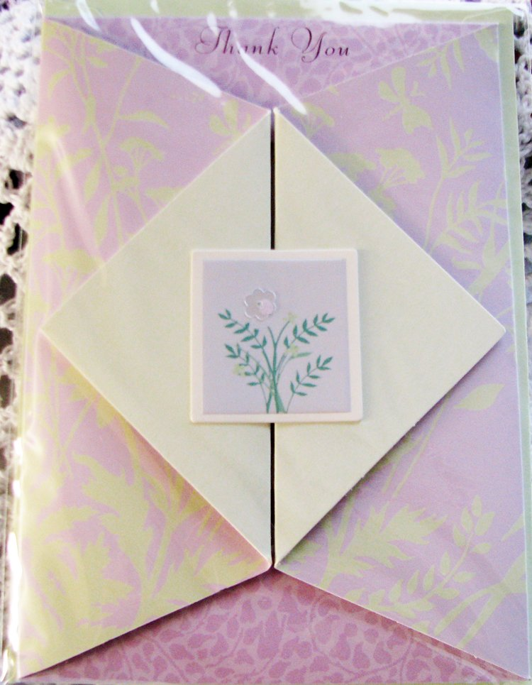 """Your special kindness is much appreciated"" Handcrafted ""Thank You"" Greeting Card"