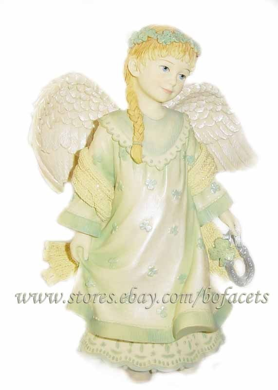 ARTISAN FLAIR - Angels Among Us - Angel of Good Luck Figurine