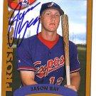 Jason Bay Authentic Autographed Card - Great Autograph