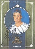 Greg Maddux Authentic Autographed Card - Great Autograph