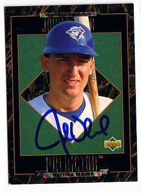 John Olerud Authentic Autographed Card - Great Autograph