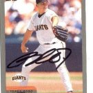 Russ Ortiz Authentic Autographed Card - Great Autograph