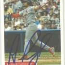 Albert Pujols Authentic Autographed Card - Great Autograph