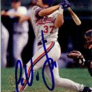 Jose Vidro Authentic Autographed Card - Great Autograph