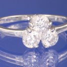 0.75ctw Russian Diamond Engagement Ring Size I1/2, M or O