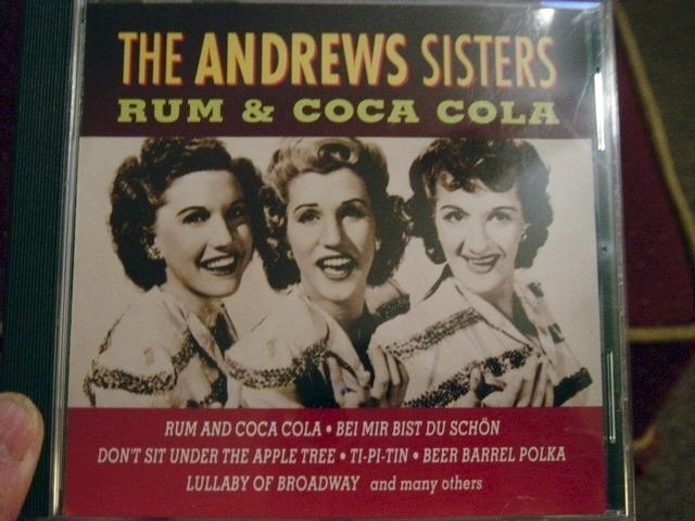 The Andrews Sisters Rum & Coca Cola (CD 1994) #400129