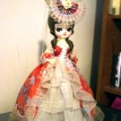 Vintage Big Eyed Little Girl Bradley Music Box Doll Plays Memories #400024