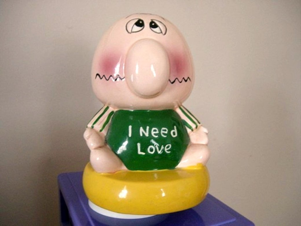 Cute Cartoon Ziggy Man I Need Love UCGC Music Box #400031