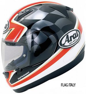Arai Profile Flag Italy Graphics Street Motorcycle Helmets