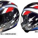 HJC AC-12 Carbon Elbowz Mens Street Motorcycle Helmets