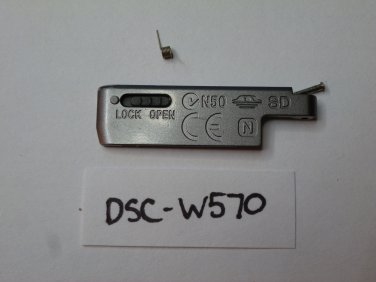 Sony DSC-W570 Door Replacement Silver