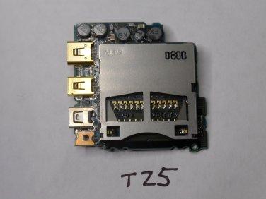 Panasonic DMC-TZ5 DMC-TZ11 SD Memory Card PCB Sub Board