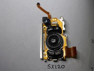 Canon SX120 Rear Buttons PCB  Board w/buttons