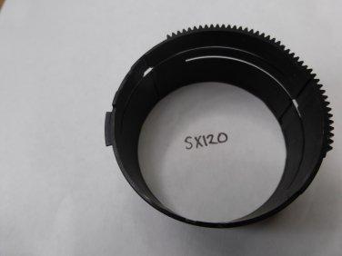 Canon SX120 Lens Tube gear Barrel 4 Lens Part
