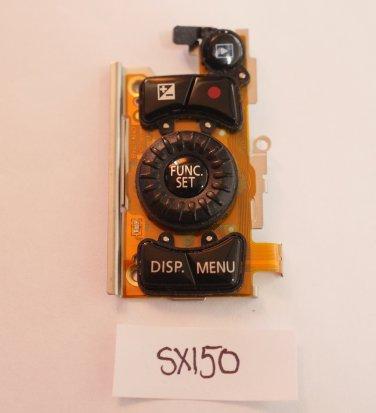 Canon SX150 Rear Buttons