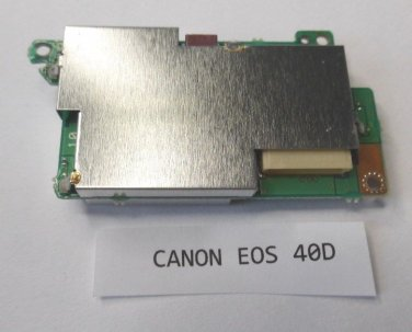Canon 40D DC Power Board Replacement