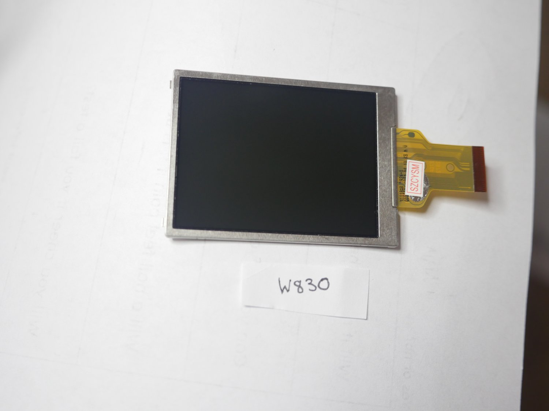 Sony DSC-W830 LCD Display Screen