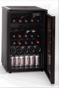 Haier HBCN05EBB 96 Cans/46 Wine Bottles