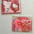 Sanrio Hello Kitty Red & Pink Stationery Writing Paper Letter Sheets & Envelope Set