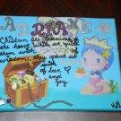 Girl's Name Mermaid Wall Art
