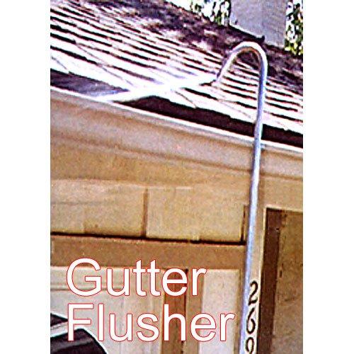 Gutter Flusher Rust-Proof Aluminum Telescoping Wand