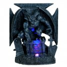 Graveyard Demon Chopper LED Light Statue