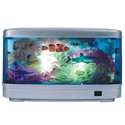 "14"" Ocean Motion Pictures Lamp"