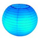 "10"" Blue Paper Lantern"