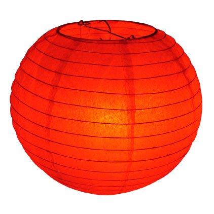 """10"""" Red Paper Lantern"""