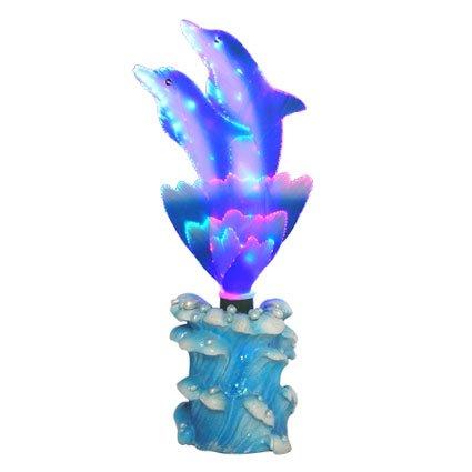Dolphins Fiber Optic Night Light - A
