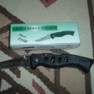 Frost Cutlery Knife Green Beret Folder - 4""