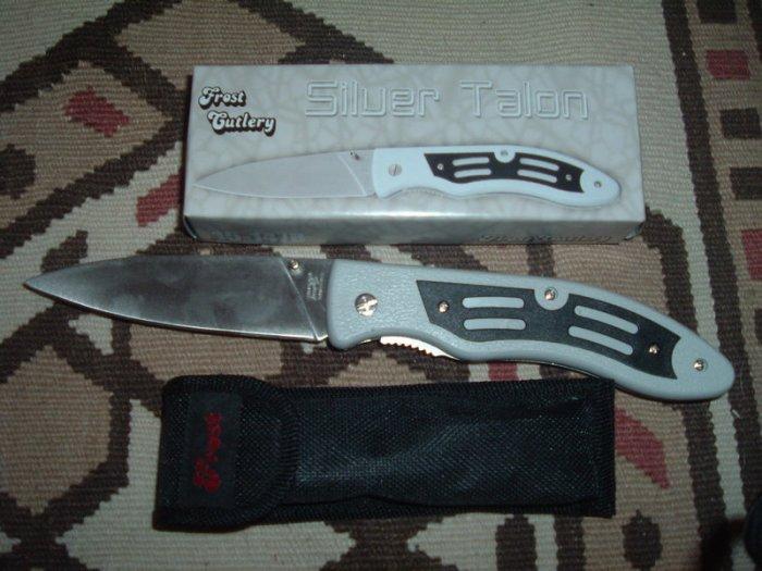"""Frost Cutlery Knife Silver Talon - 5 3/4"""""""