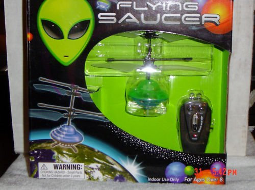 Flying Saucer,Infrared Control UFO,Bright Diode Lights