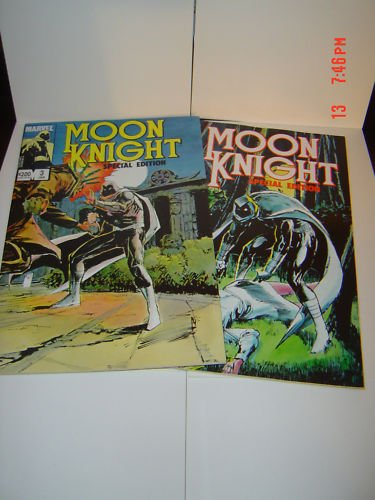 MOON KNIGHT SPECIAL EDITION 2 and 3 MINT