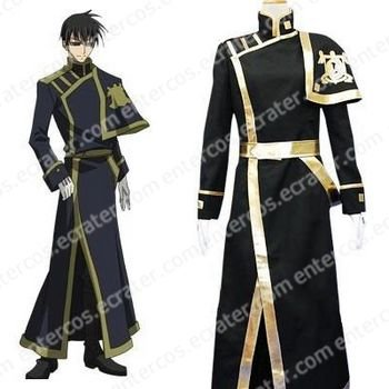 07-Ghost Barsburg Empire Uniform Cosplay Costume any size.