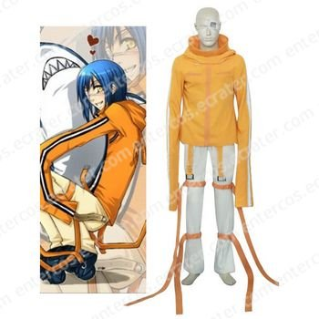 Air Gear Akito Halloween Cosplay Costume any size.