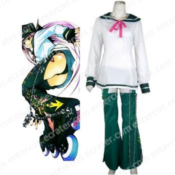 Air Gear Simca Halloween Cosplay Costume any size.