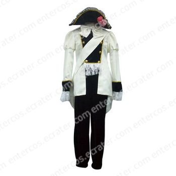 Axis Powers Austria Uniform Cosplay Costume  any size.