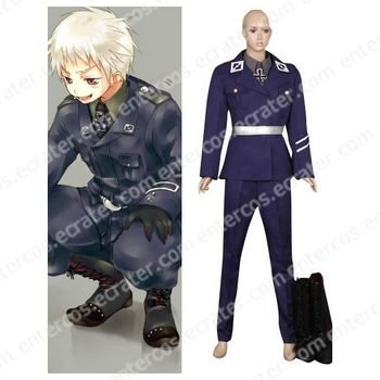 Axis Powers Cosplay Costume any size.